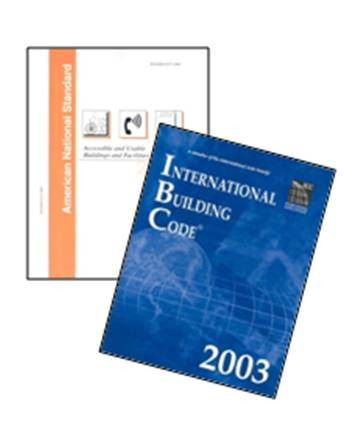 IBC (2003) and ANSI A117.1 Standard (covers)