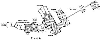 Plan view of Phase A of project