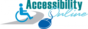 Accessibility Online banner with ISA and computer mouse
